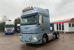 Daf<br>XF105.460 6x2 Midlift Axle In Metallic Blue 2012 12 Reg