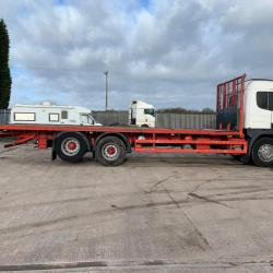 Scania 114 380 Sleeper Cab 10-Tyre Rear Lift Axle 2002 02 Reg