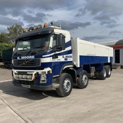 Volvo FM12 340 8x4 Steel Body Tipper 8-Speed Manual Gearbox 2005 05 Reg