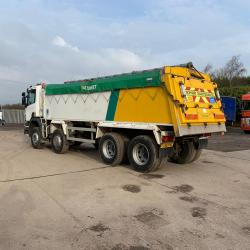 Scania P380 8x4 Tipper On Board Weigher Manual Gearbox 2007 56 Reg
