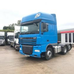 Daf XF105.460 Superspace Cab 12-Speed Manual Gearbox 2013 13 Reg