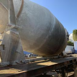 McPhee Concrete Mixer Barrel Complete with Hydraulic Pump