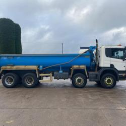 Scania P360 Manual Gearbox 8x4 Thompson Tipper Body 2011 11 Reg