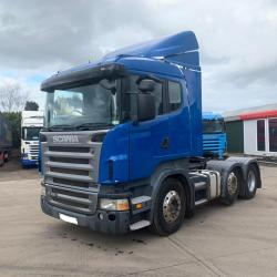 Scania R420 12-Speed Manual Gearbox 6x2 Midlift Axle 2006 56 Reg