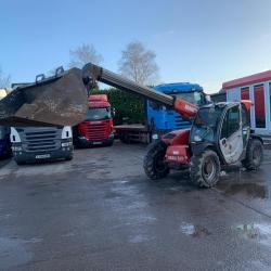 Manitou MLT625 Telehandler ONLY 2594 Hours Year : 2012