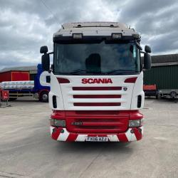 Scania R420 12-Speed Manual Gearbox 6x2 Midlift Axle 2006 06 Reg