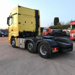 Mercedes Actros 2551 LS 6x2 Midlift Axle In Excellent Cond 2012 62 Reg