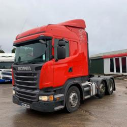 Scania R440 Highland 6x2 Midlift Axle Air Deflector Kit 2014 14 Reg