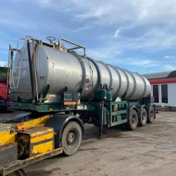 Tinsley Tri Axle 27,000ltr Vacuum Tanker Choice of 2 Year : 1987