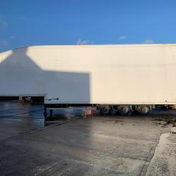 Cartwright Double Deck Box Trailer 10 Tonne Internal Lifting Deck Year : 2014