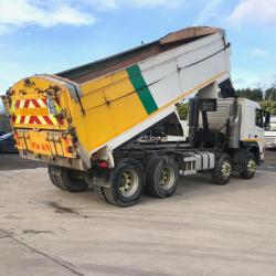 Volvo FM400 8x4 Tipper Sleeper Cab Manual Gearbox 2009 09 Reg