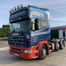 Scania 124 420 6x2 Midlift Axle Manual Gearbox 2003 53 Reg