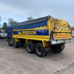 Scania P400 8x4 Tipper Sleeper Cab Manual Gearbox 2011 61 Reg