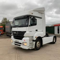 Mercedes Axor 1840 4x2 Tractor Unit with Clutch Pedal 2007 07 Reg