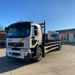Volvo FE220 Sleeper Cab 18 Tonne Flatbed Body 2013 63 Reg