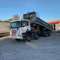 Scania P380 8x4 Steel Bodied Tipper 8-Speed Manual Gearbox 2006 55 Reg