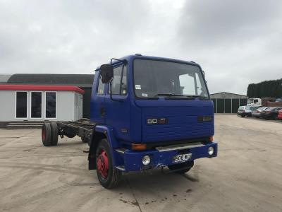 Daf 50.160 Cummins Turbo Engine Sleeper Cab 1991 H Reg