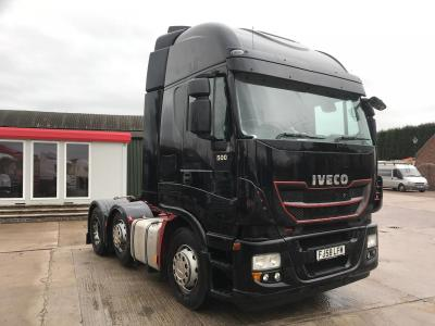Iveco Stralis 500 6x2 Midlift Axle Sliding 5th Wheel  2008 58 Reg