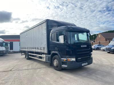 Scania P230 8-Speed Manual Gearbox Curtainsider Body 2005 55 Reg