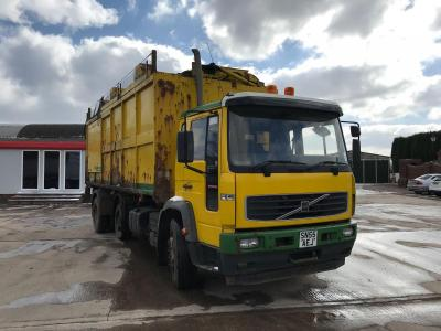 Volvo FL220 Tipper Refuse Side & Rear Loader  2005 55 Reg