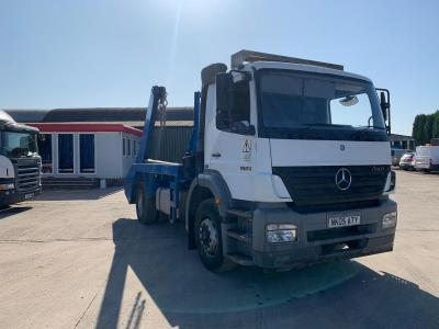 Mercedes Axor 1823 Skip Lorry Telescopic Extending Arms 2005 05 Reg
