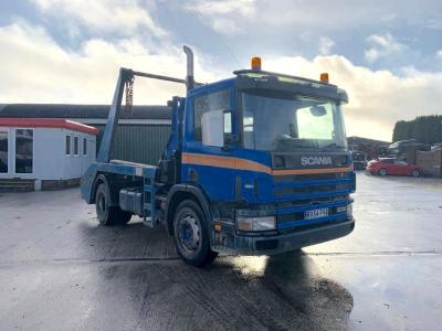 Scania P230 Skip Loader Manual Gearbox Spring Suspension 2004 04 Reg